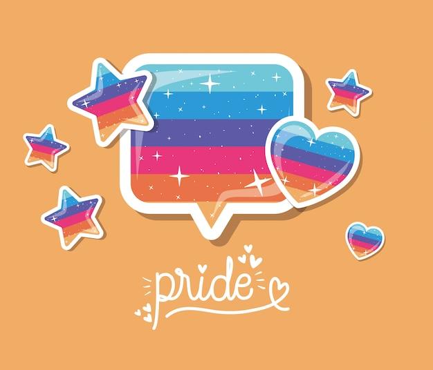 Тема гордости и пузыря, сексуальная ориентация и личность