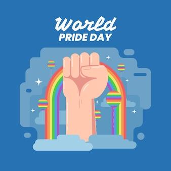 Concetto di celebrazione del giorno dell'orgoglio