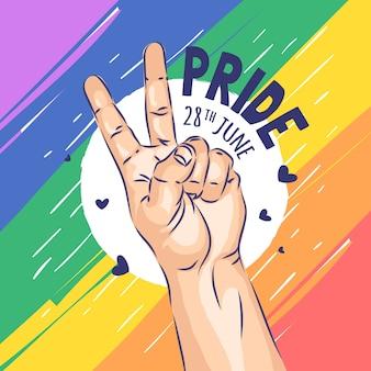 Иллюстрация концепции дня гордости
