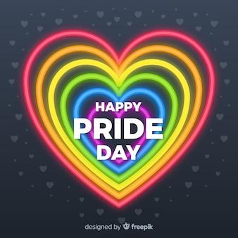Pride day concept