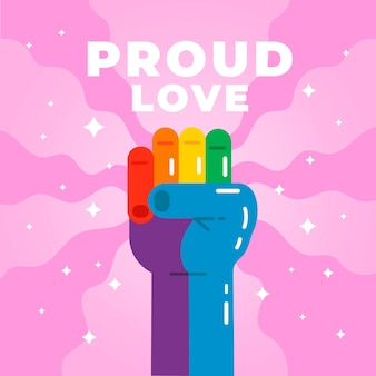 Concetto di orgoglio