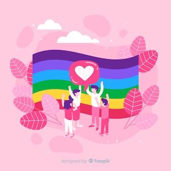 Pride day fag