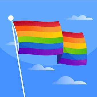 Pride day flag design