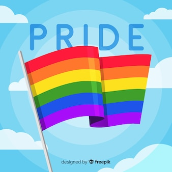Pride day flag