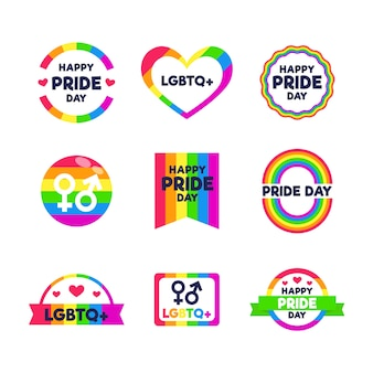 Progettazione di etichette per orgoglio