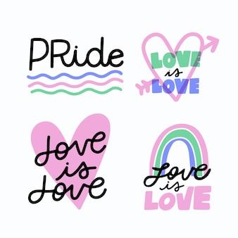 Надпись на день гордости