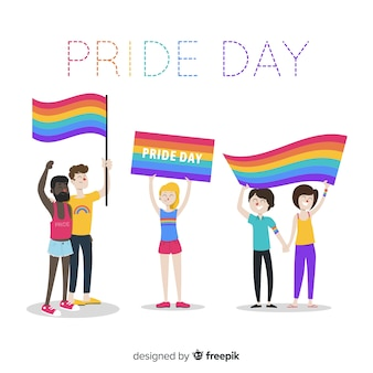 Pride day people