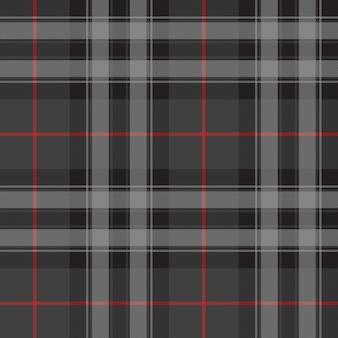 Гордость шотландии серебряный тартан килт текстуры бесшовные модели