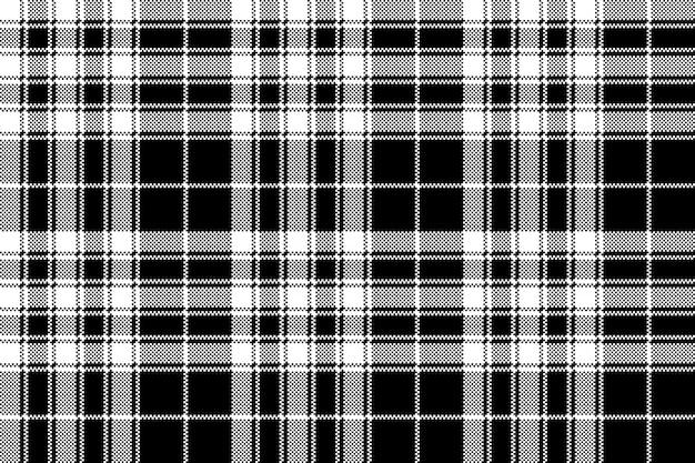 Гордость шотландии тартан текстура ткани пикселей бесшовный фон