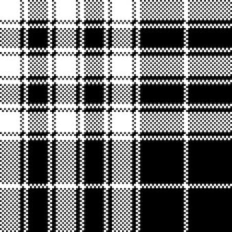Гордость шотландии тартан текстура ткани бесшовные модели