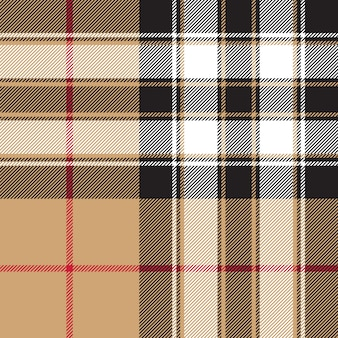 Pride of scotland gold tartan fabric texture seamless pattern