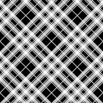 Pride of scotland tartan fabric texture pixel seamless pattern