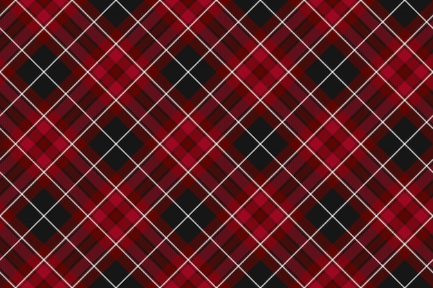 Pride of wales fabric textures red tartan seamless
