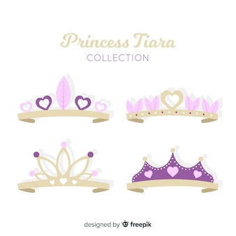 Princess tiara collection
