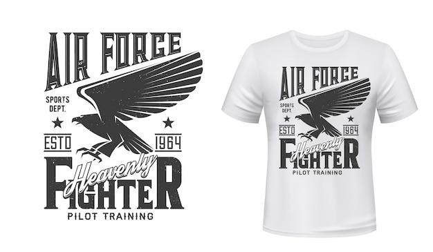 Печать, военно-воздушные силы готический орел ястреб