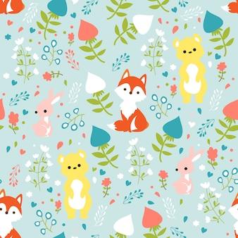Print animal fabric
