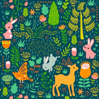 Print green animal