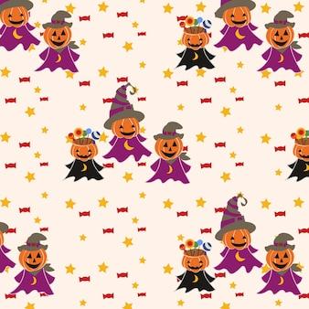 Print halloween background