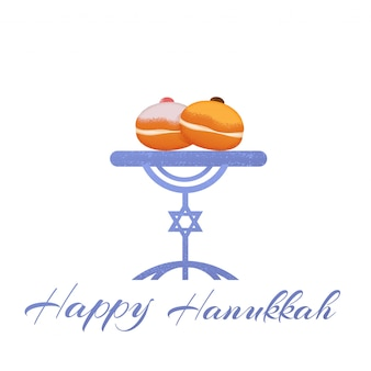 Print happy hanukkah sufgan