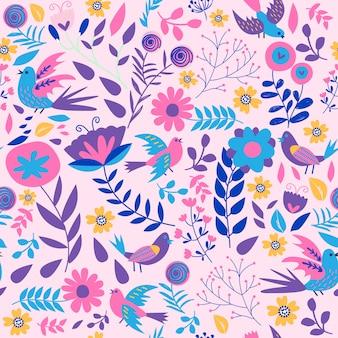 Print pink pattern