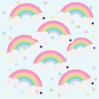 Print rainbow card