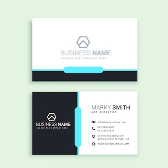 Print ready business card vector download now
