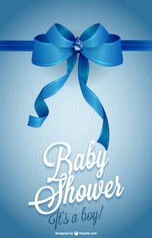 Printable Invitation Baby Shower Vector Free Download