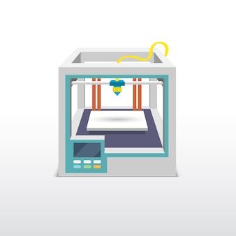 Printing 3d emblem