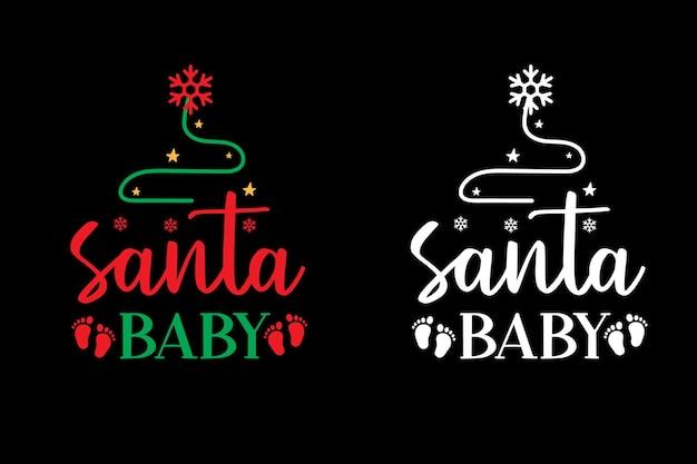 Printmerry christmas typography tshirt designchristmas typography design lettering design