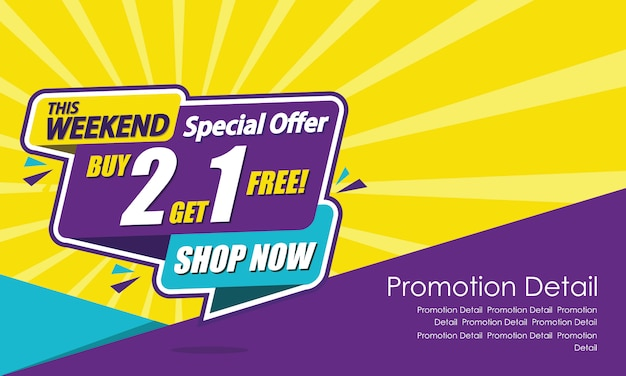 Printsale banner template design