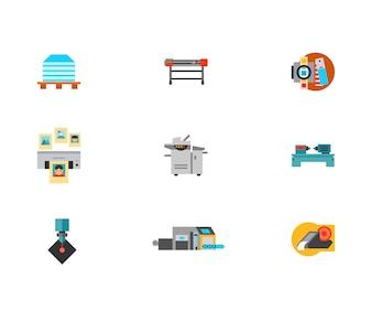 Printshop Icon Set