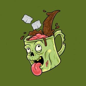Printzombie coffee mug