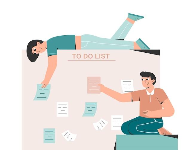 Приоритезация задач в списке дел