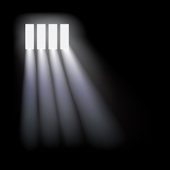 Prison window background.