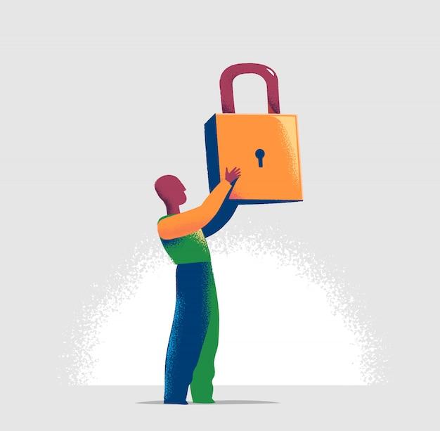 개인 정보 및 보안 관리자