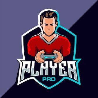 Дизайн логотипа киберспортивной игры для профессиональных игроков