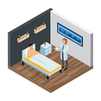 Probiotic clinic isometric composition