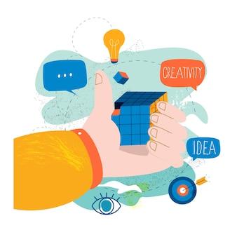 Решение проблем, креативное решение, инновационный бизнес-подход
