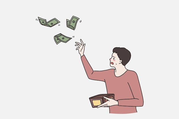 Problems with finances and no money concept