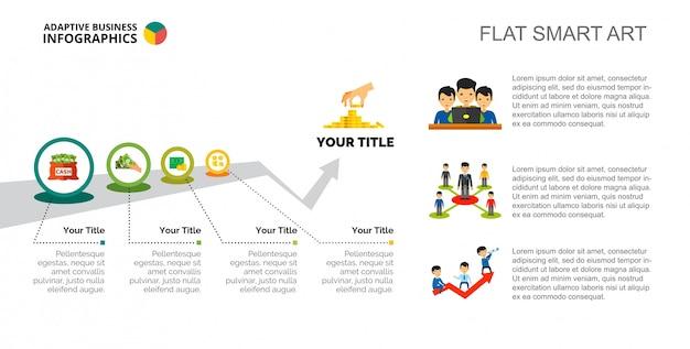 Process infographics slide template