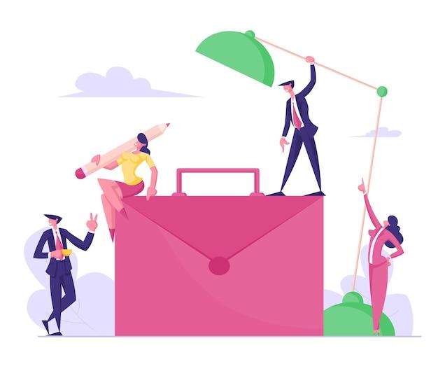 기업 업무 및 커뮤니케이션 과정