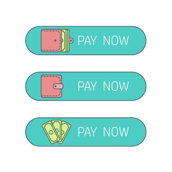 賃金と収入のイラストを支払うプロセス