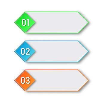프로세스 단계. 인포 그래픽 요소.