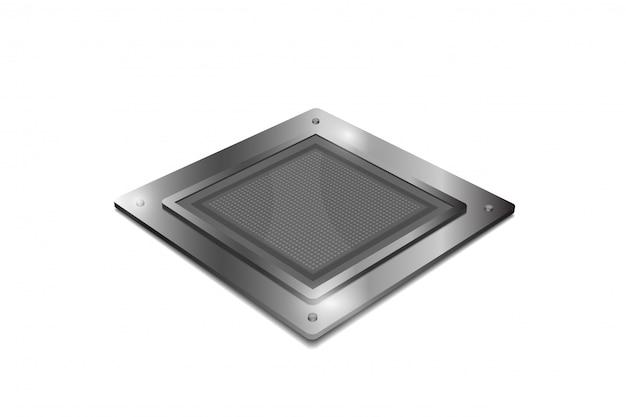 Processor unit concept isolated