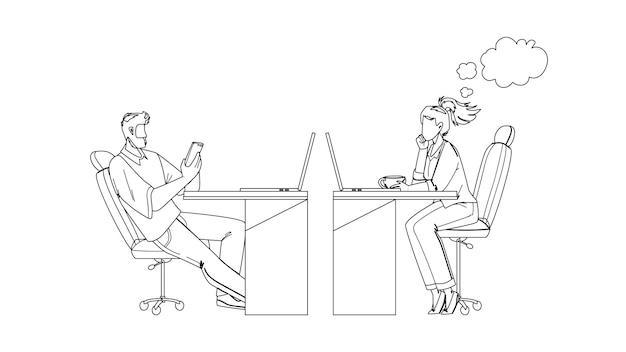 Прокрастинация коллег по офисным работникам
