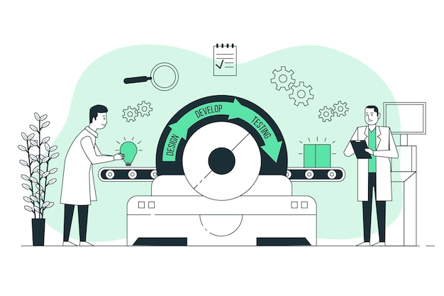 製品反復の概念図