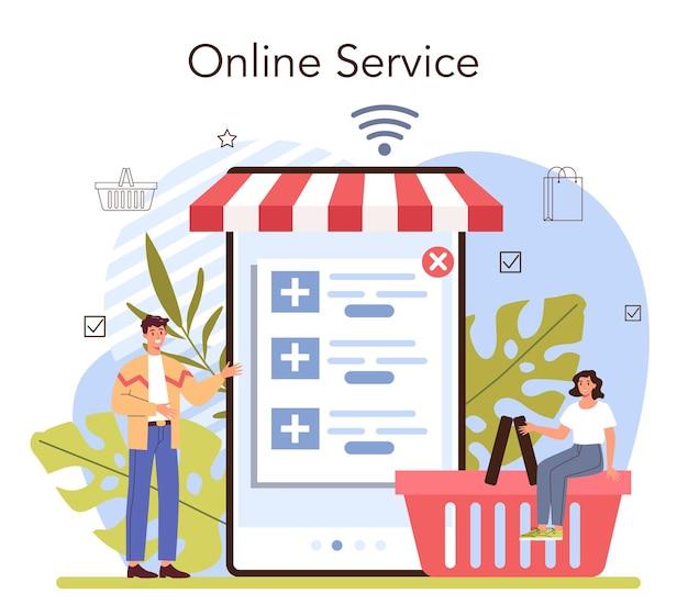 Онлайн-сервис или платформа для презентации продукта. предприниматель представляет