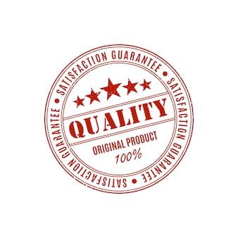 Product quality guarantee label