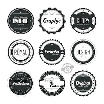 Product quality label set
