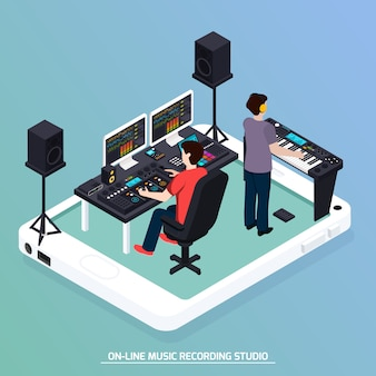 Production music isometric composition